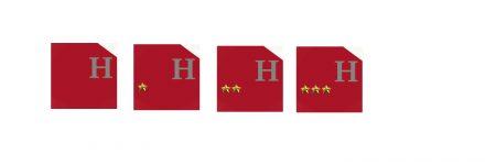 Hôtel jusqu'à 3 étoiles