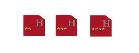 Hôtel jusqu'à 4 étoiles