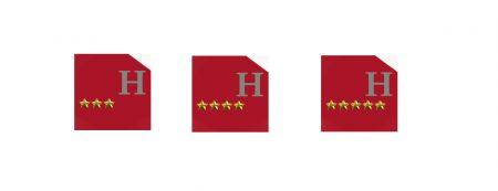 Hôtel jusqu'à 5 étoiles