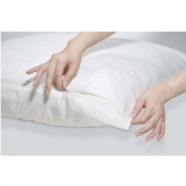 Taie oreiller zippée