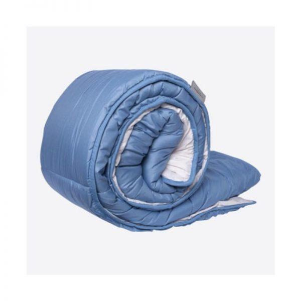 Couette couleur bleu hotellerie
