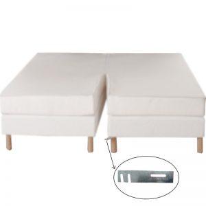 Platine pour assembler les lits twins